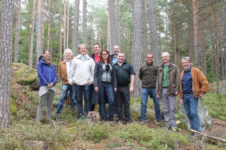 Fehra Projektgruppe im Waldviertel/Versuchsflächen BOKU